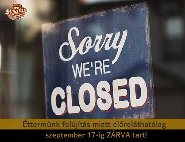 Zárva vagyunk