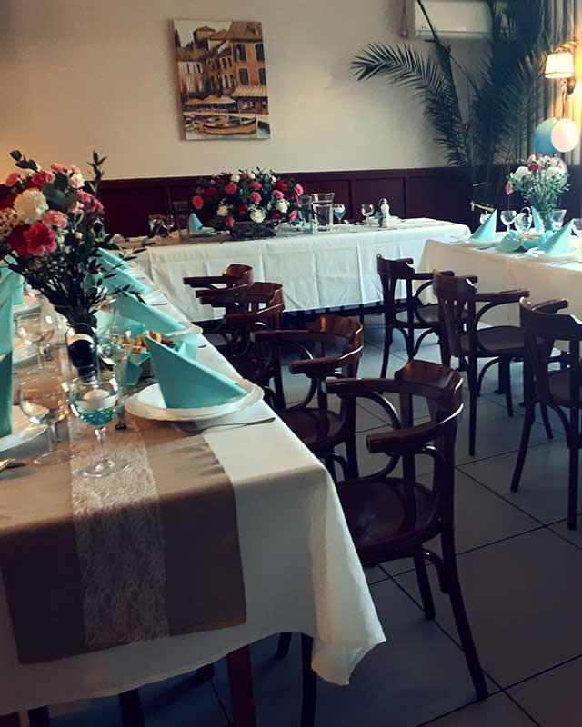 Esküvő a Stefánia pizzériában